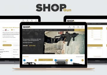 Miniature Redesign site ShopGun